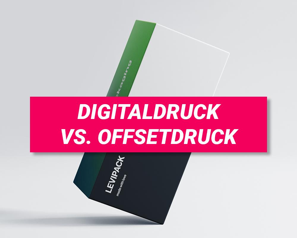 Unterschied zwischen Digitaldruck und Offsetdruck