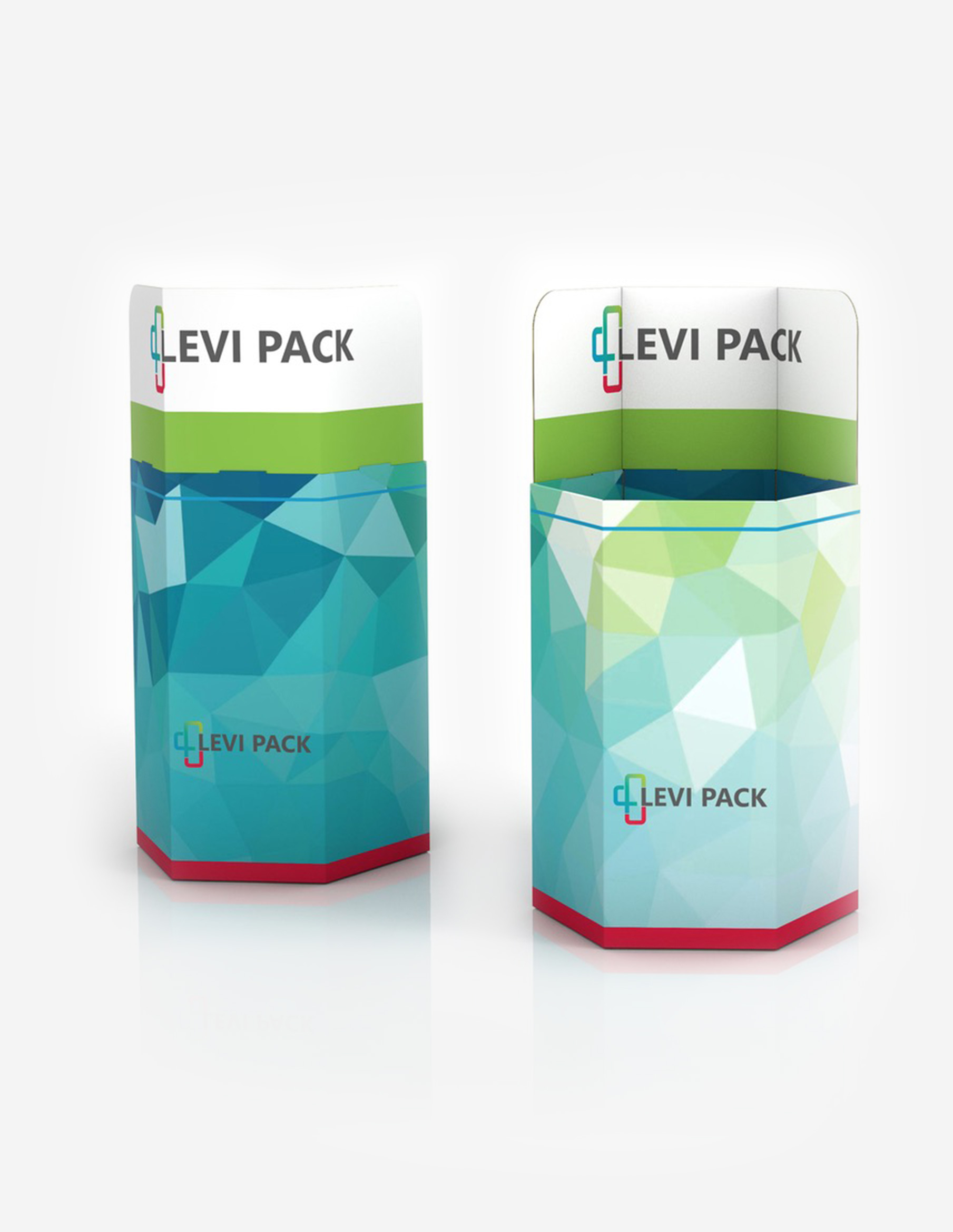 Displays von Levi Pack