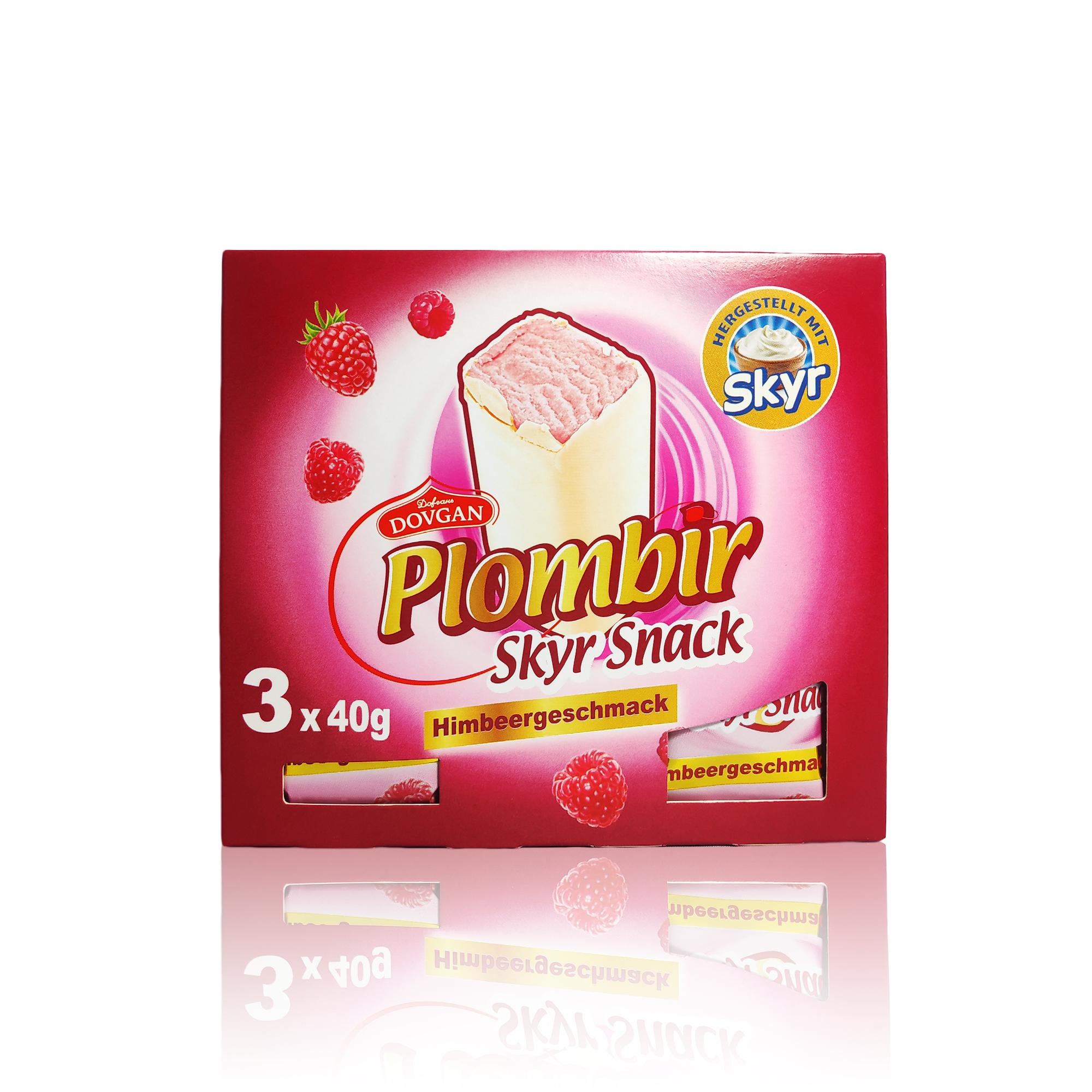 Faltschachtel Plombir Pink