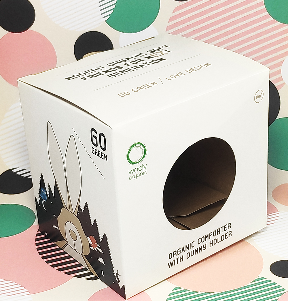 Schachtel mit Hasen - Süße Schachteln