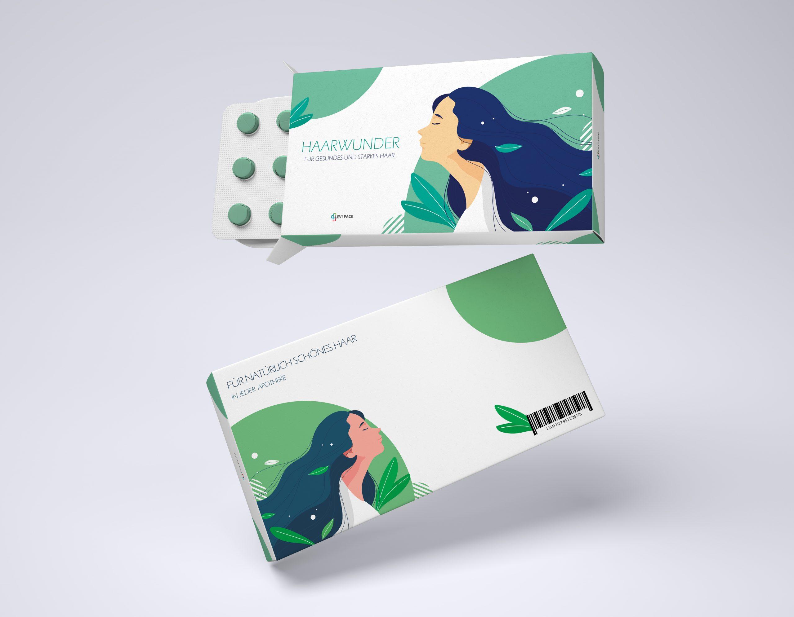 Verpackung für Medikamente